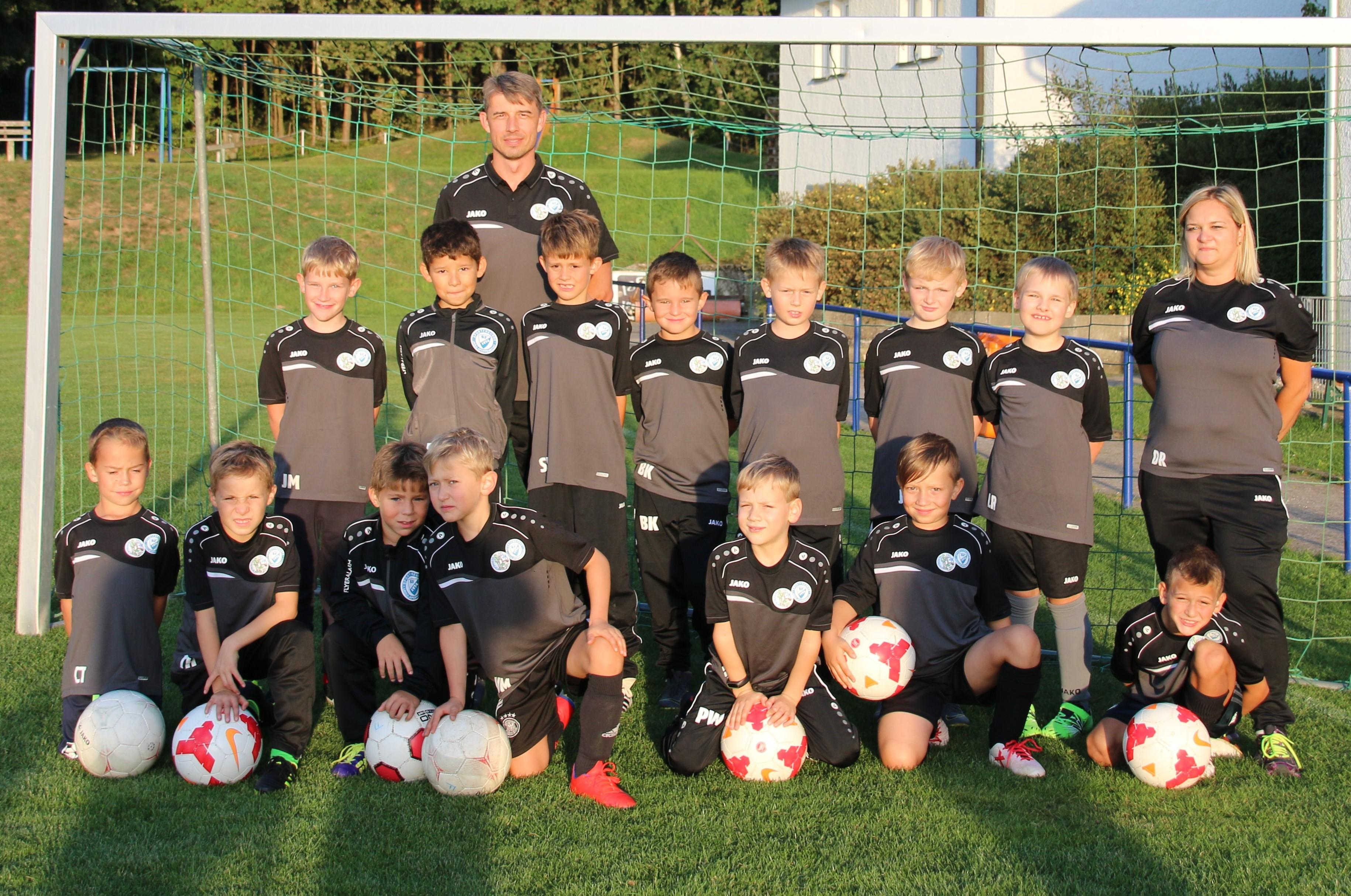 Das aktuelle Team der F2-Jugend