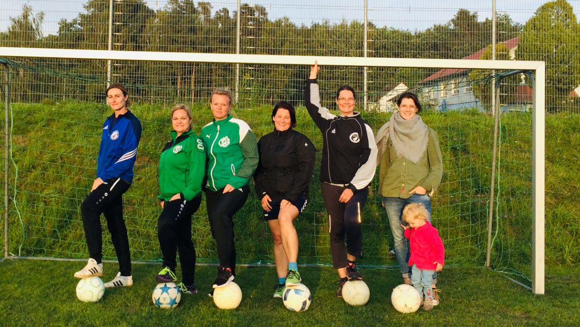 Damenfußballmannschaft