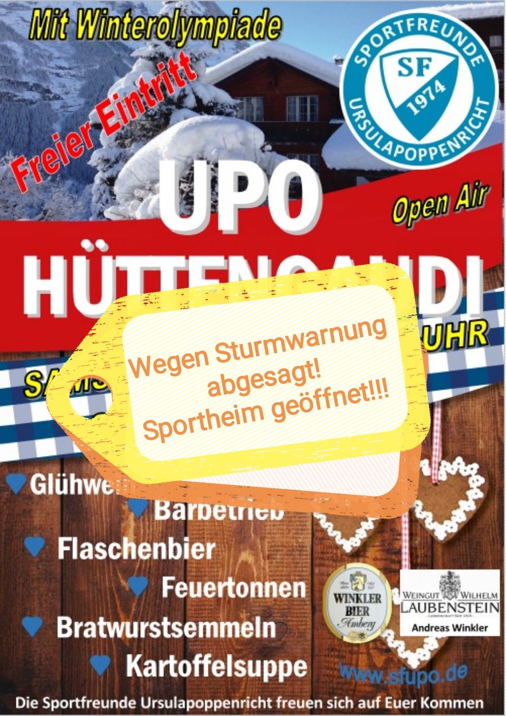 Hüttengaudi_abgesagt